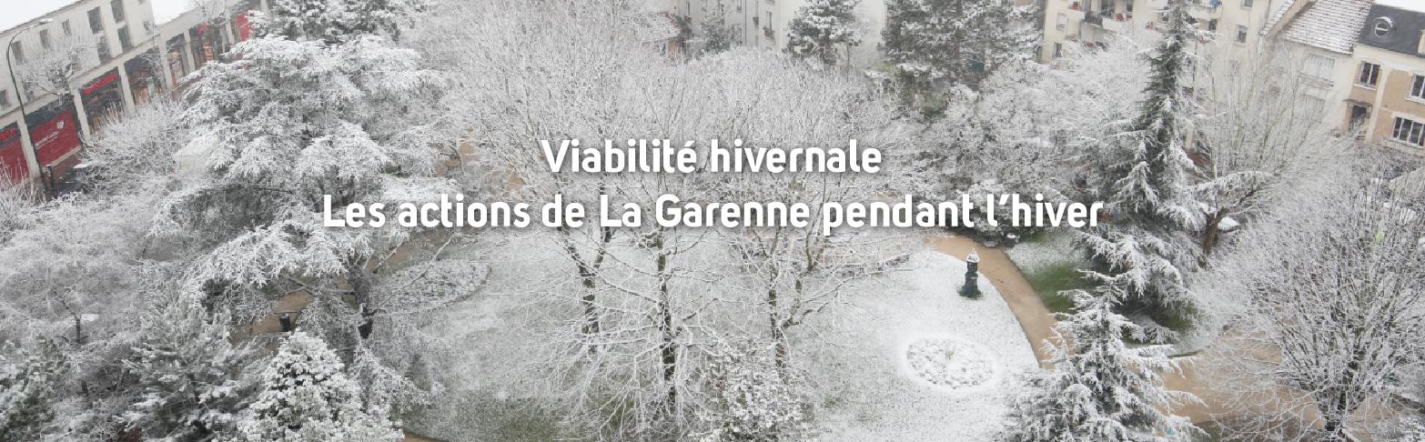 Les actions de La Garenne <br> pendant l'hiver </br>