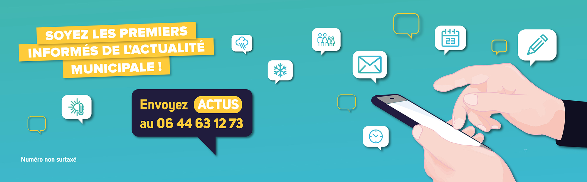 SMS : En un mot, toute l'info