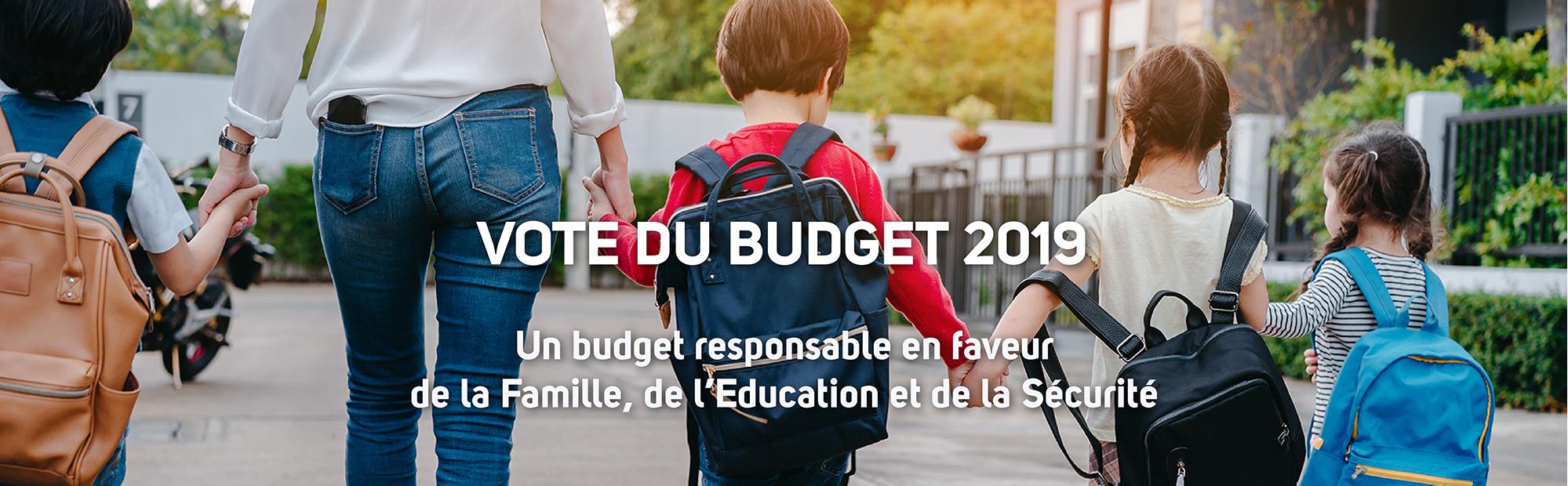Vote du Budget 2019
