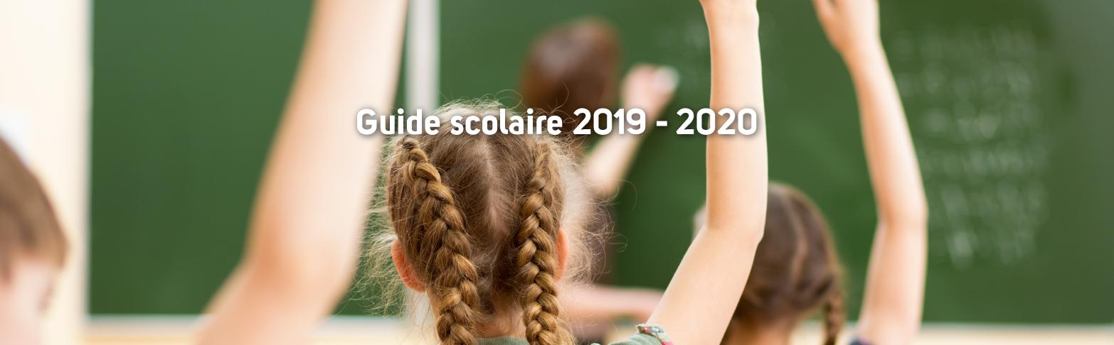 Guide scolaire 2019-2020
