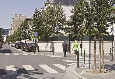 RÉNOVATION ET EMBELLISSEMENT<br />DE L'AVENUE FOCH