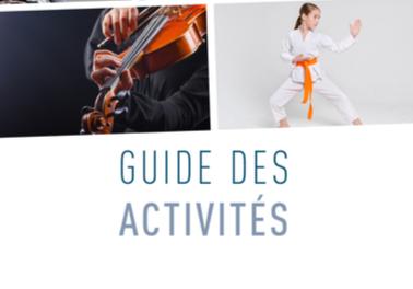 Guide des activités 2019-2020