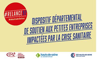 #Relance92 : des mesures de soutien pour les artisans et les TPE/PME