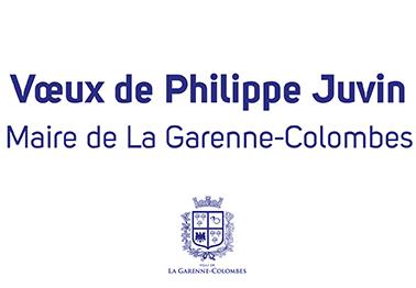 Vœux 2021 de Philippe Juvin,</br>Maire de La Garenne-Colombes