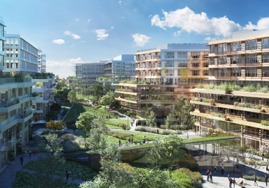 Nouveau siège Engie dans le quartier des Champs-Philippe
