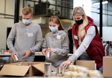 Aide alimentaire pour les étudiants en difficulté