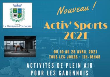 Activ'Sports : des activités de plein air pour tous