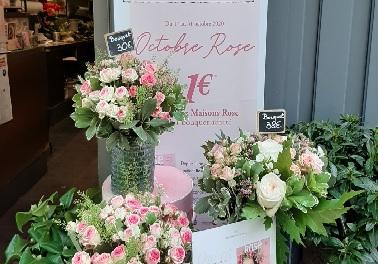 Au Nom de la Rose se mobilise contre le cancer du sein.